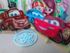 Display carros, decoraçao de festa infantil,mdf, pintura aerografo