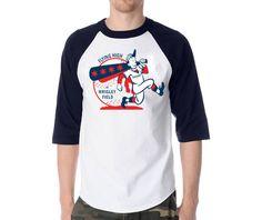 Wrigley Field 'King of Swing' Retro 3/4 Sleeve T-Shirt by SW Apparel $21.95