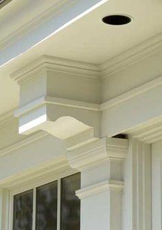 exterior molding details!!!!