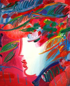 Beauty by Peter Max - Serigraph on Paper