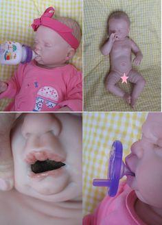 FREE SHIP Full body OPEN Mouth reborn baby by simplysweetbundles