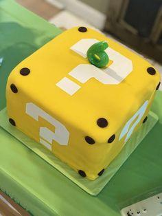 Super Mario Birthday Party Ideas   Photo 2 of 13