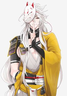 Touken Ranbu's Kogitsunemaru (小狐丸), or Inuyasha 2.0, is growing on me