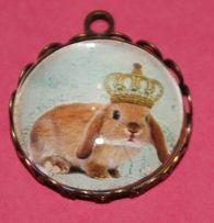 """Venta especial """"Camafeo Bunny"""" Queremos ayudar a nuestros amigos de Save The Rabbits y a la pequeña conejita Bunny, una pequeña luchadora, una auténtica reina conejil que estamos seguros que saldrá adelante. Por eso, toda la recaudación obtenida de la venta de este modelo concreto de camafeo, será donado para ayudar en los gastos veterinarios de la pequeña.  https://www.facebook.com/photo.php?fbid=580487601988740&set=a.514120781958756.1073741826.513906718646829&type=1&relevant_count=1"""