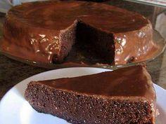 Bolo Tentação de Chocolate Sem Farinha
