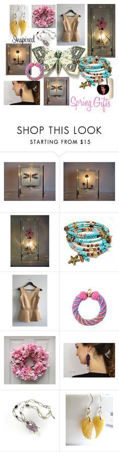 """New Spring Trends"" by glowblocks ❤ liked on Polyvore featuring Aurélie Bidermann"