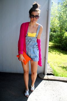 overall colour blocking