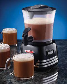 Nostalgia Electrics - Hot Chocolate Maker yummy