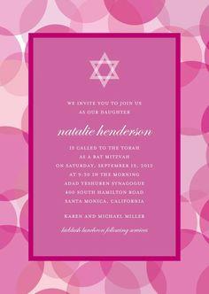 invitation ideas. too pink?