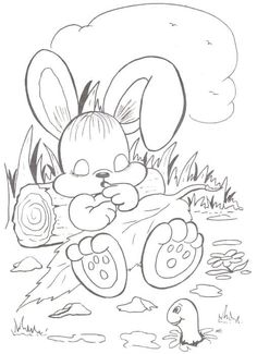 Trendy Embroidery Patterns For Baby Templates Coloring Pages Ideas Easter Coloring Pages, Cute Coloring Pages, Animal Coloring Pages, Coloring For Kids, Adult Coloring Pages, Coloring Books, Butterfly Drawing, Easy Drawings, Fabric Painting