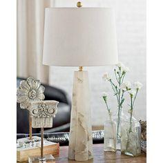 Regina Andrew Lighting Small Alabaster Quatrefoil Table Lamp @LaylaGrayce  473