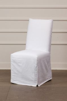 Persimmon Long Anna Chair Slipcovers Set Of 2