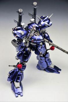"Custom Build: MG 1/100 Kampfer ""Metallic Finish"" - Gundam Kits Collection News and Reviews"