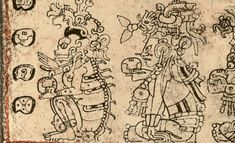 Death Gods, from the Dresden Codex.