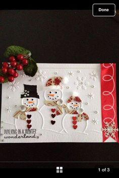 Christmas Card Crafts, Homemade Christmas Cards, Christmas Cards To Make, Noel Christmas, Xmas Cards, Homemade Cards, Handmade Christmas, Holiday Cards, Christmas Decorations