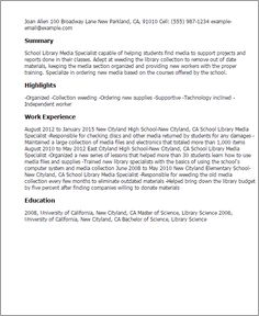 Cover Letter Cv Library 28 Images School Librarian Cover Letter Sle  Livecareer Professional
