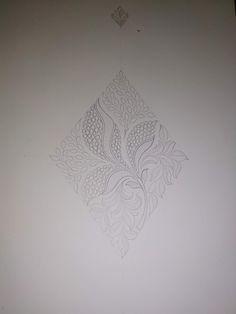 Border Embroidery Designs, Embroidery Patterns, Kora Silk Sarees, Pencil Design, Textiles, On October 3rd, Border Design, Paper Design, Textile Design