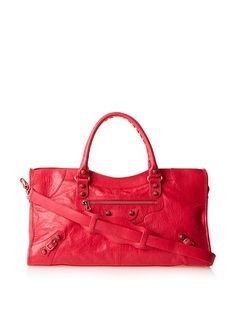 Balenciaga Women's Part Time Bag, Rosethulian, http://www.myhabit.com