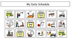 Explore Visual Schedules, Boardmaker Symbols, and more! Weekly Budget Printable, Visual Schedule Printable, Visual Schedule Autism, Visual Schedules, Free Printable, Visual Timetable, Classroom Schedule, School Schedule, Pecs Schedule