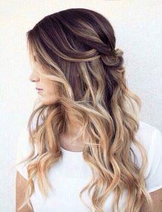 nice Модное калифорнийское мелирование волос (50 фото) — На темные и светлые локоны