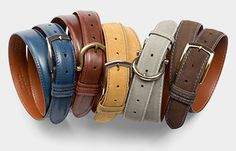 Ready to wear and personalized belts, clothing and accessories from J. Hilburn! Gorgeous and amazing quality. Contact Nicole.Aharoni@jhilburnpartner.com for more information!