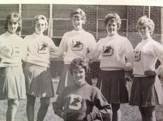 BHS Cheerleaders 60's- Baileysville, WV