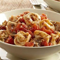 Basil Garlic Tortellini - Super Yummy Recipes - http://acidrefluxrecipes.com/basil-garlic-tortellini-super-yummy-recipes/