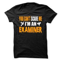Halloween Tshirt For Examiner T-Shirts, Hoodies. ADD TO CART ==► https://www.sunfrog.com/Holidays/Halloween-Tshirt-For-Examiner.html?id=41382
