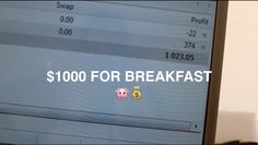 Watch This Guy Make $1000 For Breakfast #FOREX