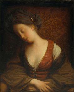 Jean-Baptiste_Santerre Young_Woman_Sleeping .jpg (3158×3921)