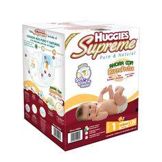 Mucho Huggies Supreme pañales etapa 1 unisex 120 piezas!!! (Costco Mexico)