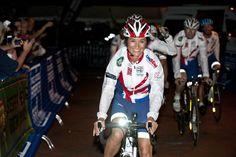 Pippa Middleton  team complete charity bike race across America.