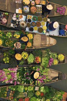 Bangkok float market #bangkok#travel#Thailand#