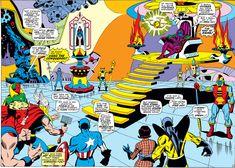 Sal Buscema, John Buscema, Strong Arms, Splash Page, Classic Comics, Incredible Hulk, American Comics, Comic Book Artists, Dojo