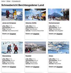 Schneebericht Berchtesgadener Skigebiete ist fertig: Gerade rechtzeitig zum Saisonbeginn in den Skigebieten!