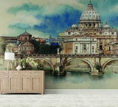 Tapet - Rome 395 x 270 cm Rome, Taj Mahal, Wallpaper, Building, Travel, Viajes, Wallpapers, Buildings, Destinations