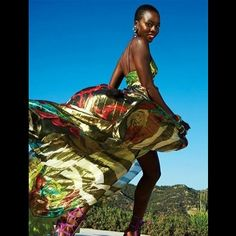 More of the beautiful and inspiring Danai Gurira, from The Walking Dead! Courtesy of @Ayisat Hammed