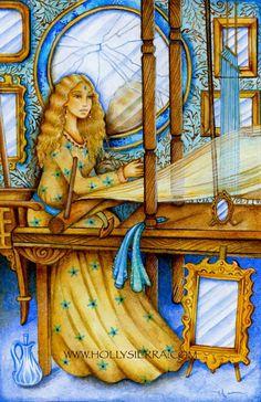 7 des miroirs - Chrysalis Tarot par Toney Brooks & Holly Sierra