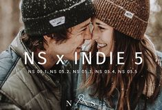 NS x Indie 5 // 5 Presets LR by North & Station on @creativemarket #lightroom #presets