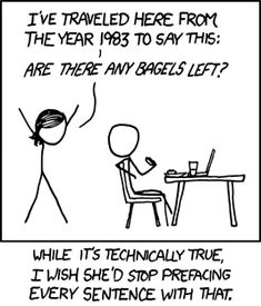 """Time Travel"" from XKCD.Com webcomic by Randall Munroe"