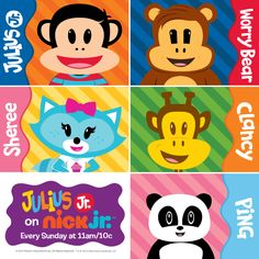 Who is your favorite character?? #JuliusJr