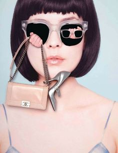 Fashion collages by Ina Jang, in Jalouse
