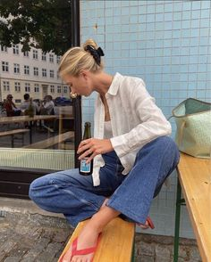 Uploaded by 🛸future edna mode🛸. Find images and videos on We Heart It - the app to get lost in what you love. Spring Summer Fashion, Spring Outfits, Pretty Outfits, Cute Outfits, Look Fashion, Fashion Outfits, Ootd, Mode Inspiration, Facon