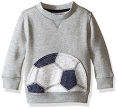 Gymboree Little Boys Toddler Graphic Sport Tee Classic Grey Heather 4T ** Read more at the image link.Note:It is affiliate link to Amazon.
