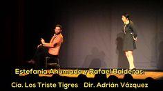 EL VENTRÍLOCUO, Teatro Sergio Magaña. Estefanía Ahumada y Rafael Baldera...
