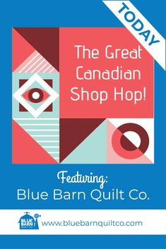TODAY on Instagrsm Blue Barn Quilt Co. will be featured on #greatcanadianshophop from @canadianmqc and we are proud to be amongst the stores being highlighed this month for Canadians to have acces to great fabric. Plus we have some amazing Canadian Quilting Accessory Companies also joining in on the fun! There will be prizes, giveaways and deals galore! #canadianmqc #greatcanadianshophop #quiltshop #greatcanadianshophop2020 #canadianmodern #fabricstore #shopsmall #proudcanadianquilter