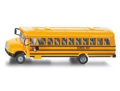 The 1/55 U.S. School Bus from the Siku Super Series - Discounts on all Siku Diecast Models at Wonderland Models.    One of our favourite models in the Siku Super Series Road Transport range is the Siku U.S. School Bus.    Siku manufacture wonderful, amazingly accurate and detailed diecast models of all sorts of vehicles, particularly buses including this U.S. School Bus which can be complemented by any of the items in the Super Series range.