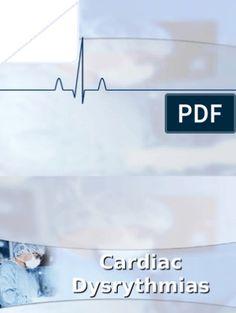 Cardiac Dysrhythmias | Electrocardiography | Cardiovascular System Heart Blood Flow, Nclex, Presentation Slides, Word Doc, Medicine, Words, Anatomy, Pdf