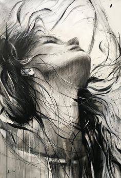 Dark Art Drawings, Art Drawings Sketches Simple, Pencil Art Drawings, Abstract Sketches, Hipster Drawings, Charcoal Drawings, Drawing Faces, Manga Drawing, Drawing Tips