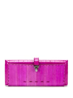 Rectangular Eel Clutch by VBH